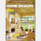 READY TO BUILD HOME DESIGNS APRIL 2002 Magazine 275 Plans Cottage Country House Plan