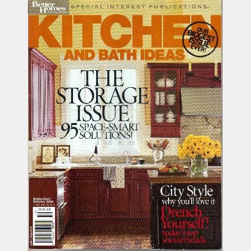 BETTER HOMES GARDENS KITCHEN BATH IDEAS September October 2004 Magazine Special Interest