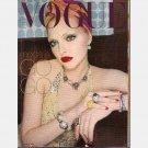 VOGUE Italia February 2000 Italy Febbraio N 594 Sophie Dahl in turban ANNA MOLINARI