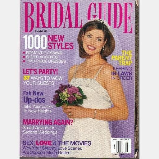 BRIDAL GUIDE Magazine March April 2000 Randy Fenoli RUBEN ZURC Volume 16 Number 2