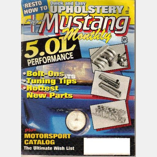 MUSTANG MONTHLY June 1992 Magazine 1985 GT 5.0 engine 1971 Mach 1 1966 Sprint 1965 Fastback