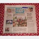 USA TODAY July 22 2008 Tuesday Newspaper Tropical Storm Dolly Tom Lori Wheeler Matt Ryan