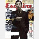 ESQUIRE March 2005 Magazine CLIVE OWEN Eva Mendes Scott Sands Wylie Dufresne Ronnie Earle