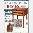 EARLY AMERICAN HOMES August 1997 Magazine William Mary High Chest  Mighty Conestoga cheese basket