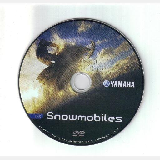 Yamaha Motor Corp Snowmobiles DVD 2005 2006