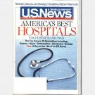 US U S NEWS & WORLD REPORT July 21 28 2008 Magazine AMERICAS BEST HOSPITALS Exclusive Rankings