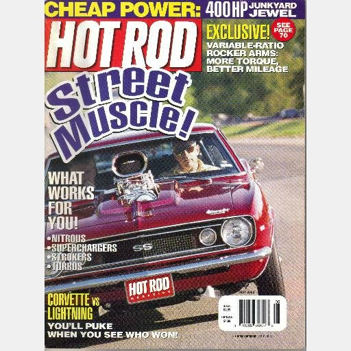 HOT ROD May 2000 Magazine Nitrous Superchargers Variable Ratio Rocker Arms
