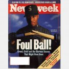 NEWSWEEK AUGUST 22 1994 Magazine Baseball Strike Seattle Mariner KEN GRIFFEY JR Woodstock hi lows