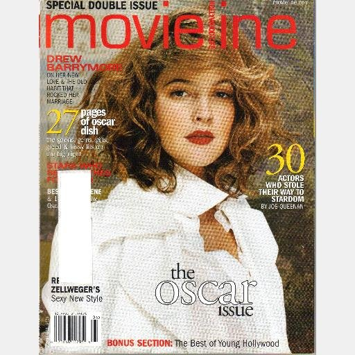 HOLLYWOOD LIFE MOVIELINE March April 2003 Magazine DREW BARRYMORE Renee Zellweger