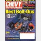 Chevy High Performance April 2002 Magazine 67 Nova SS LS6 Chevelle ZZ4 57 Chevy '51 Deluxe