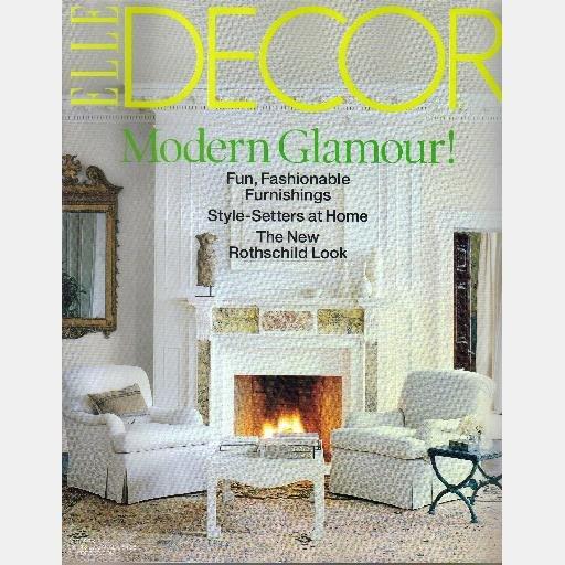 ELLE DECOR October 2003 Magazine Serge Roche NEW ROTHSCHILD LOOK Josef Astor