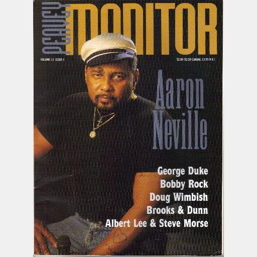 PEAVEY MONITOR Vol 13 Issue 4 Magazine AARON NEVILLE George Duke BOBBY ROCK Doug Wimbish Brooks Dunn