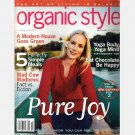 ORGANIC STYLE September October 2001 Magazine TANJA BOCHNIG cover AMY SMART