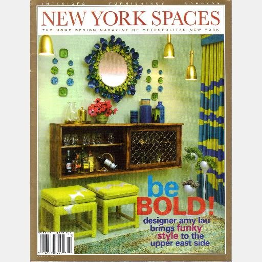 NEW YORK SPACES Vol 4 No 5 2007 Magazine Allen Schwartz SPOTLIGHT LIVE James Rixner Eric Lysdahl