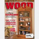 WOOD Magazine MARCH 2001 131 BETTER HOMES GARDENS Traditional Bookcase Coin Map Compound Mitersaws