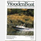 WoodenBoat Wooden Boat 2001 Magazine entire year 158 159 160 161 162 163 Rabbet Plane ELLY Farallone