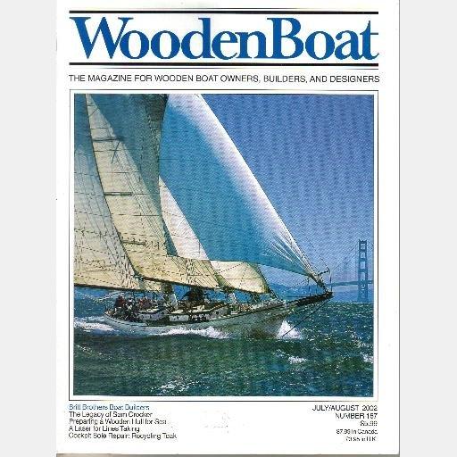 WoodenBoat Wooden Boat Magazine year 2002 164 165 166 167 168 169 Herreshoff P WINFIELD LASH Sultana