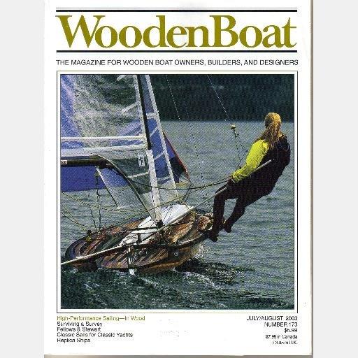 WoodenBoat Wooden Boat July August 2003 173 Magazine Fellows Stewart SWIFT SOLO Doug Shumpert