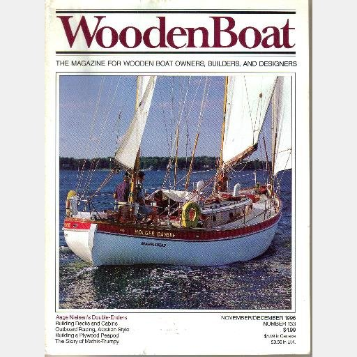 WOODENBOAT Wooden Boat November December 1996 133 Peapod AAGE NIELSEN DOUBLE ENDERS Mathis Trumpy