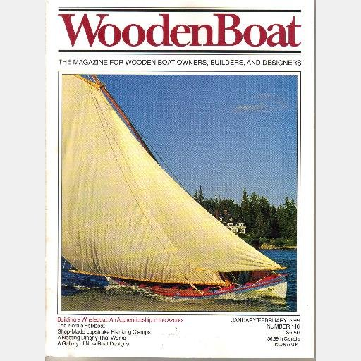 WOODENBOAT Wooden Boat January February 1999 146 Whaleboat Azores Nordic Folkboat Nesting Dinghy