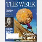THE WEEK April 11 2008 Magazine Vol 8 Issue 356 Hillary Clinton Sisyphean Struggle Dalai Lama