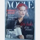 VOGUE October 1996 Magazine Madonna Evita Steven Meisel Country Fare Naomi Cambell Bill Clinton