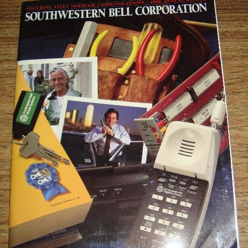 SOUTHWESTERN BELL CORPORATION CORP 1986 ANNUAL REPORT