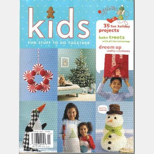 MARTHA STEWART KIDS WINTER 2005 Magazine No 20 Making Movie Snow Animals Peppermint Buttons