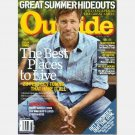OUTSIDE August 2009 Magazine AARON ECKHART Perfect Towns Charleston Colorado Springs Austin Ashland