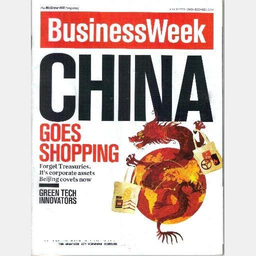 BUSINESS WEEK BUSINESSWEEK Magazine July 27 2009 CHINA GOES SHOPPING corporate assets