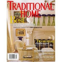 TRADITIONAL HOME May 2008 Magazine