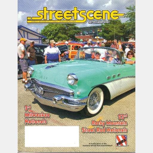 STREETSCENE September 2007 Magazine Street Rod 23th Rocky Mountain Nationals PURE BLISS Ford Sedan