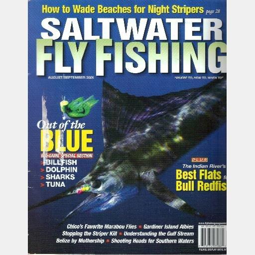 SALTWATER FLY FISHING August September 2005 Marabou Flies Belize Night Stripers Bull Redfish