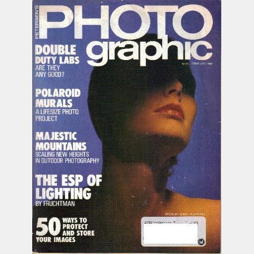 Petersen's PHOTOgraphic February 1988 Magazine CHINON AUTO 3001 JERRY FRUCHTMAN PURE LIGHT