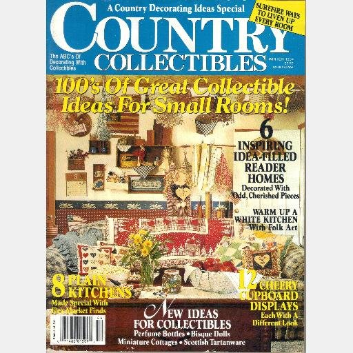 COUNTRY COLLECTIBLES Winter 1994 Vol 6 Magazine Campbell Soup Bisque Dolls Alec Nesbitt Tin Cans