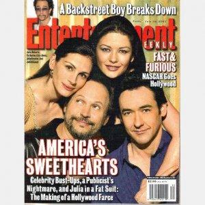 ENTERTAINMENT WEEKLY July 20 2001 605 Marlon Brando Catherine Zeta Jones Julia Roberts John Cusack