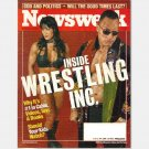 NEWSWEEK February 7 2000 Magazine INSIDE WRESTLING INC Chyna THE ROCK