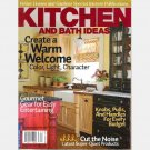BETTER HOMES GARDENS KITCHEN AND BATH IDEAS November December 2007 Special Interest Magazine