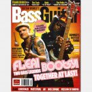 BASS GUITAR September 2006 Magazine FLEA Bootsy Hunter Burgan Blasko Josh Werner Robbie Merrill
