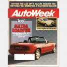 AUTOWEEK November 28 1988 Magazine MAZDA MX5 MX-5 ROADSTER Penske PC17 SAAB 900 CD