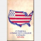 CUYAHOGA COMMUNITY COLLEGE OH Ohio Catalog 1975 1976