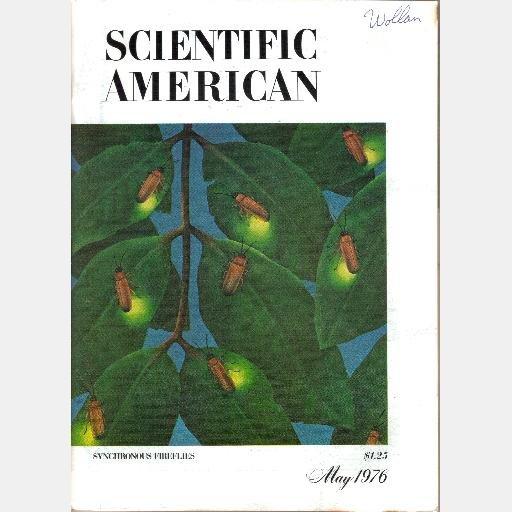 SCIENTIFIC AMERICAN May 1976 Volume 234 No 5 Synchronous Fireflies Galilean Satellites mass photon