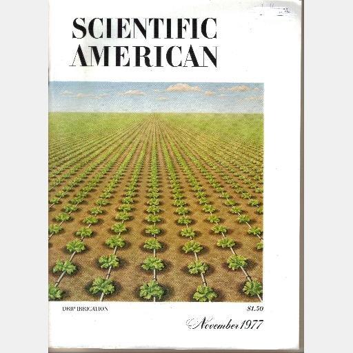SCIENTIFIC AMERICAN November 1977 Volume 237 No 5 Drip Irrigation Paleolithic Flint Fertilization