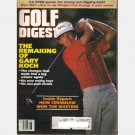 GOLF DIGEST June 1984 Magazine GARY KOCH How Crenshaw Won the Masters Dave Marr TOM Watson Chipping