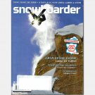 SNOWBOARDER November 2009 Magazine Terje Haakonsen CHASING THE DRAGON Terrace BC Ms Superpark