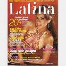 LATINA September 2005 Eva Mendes Magazine Bruno Campos Gina Torres