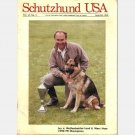 SCHUTZHUND USA September October 1990 Magazine Vol 15 No 5 Lex v Wolfenbuttler Land Marc Hess