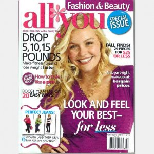 ALL YOU Fashion & Beauty Special Issue FALL 2009 Magazine