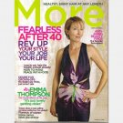 MORE February 2006 Magazine Emma Thompson Eloisa James Colene Anderson