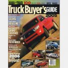 ROAD & TRACK 2005 Truck Buyers Guide Van SUV Grand Cherokee Hummer H3 Nissan Pathfinder
